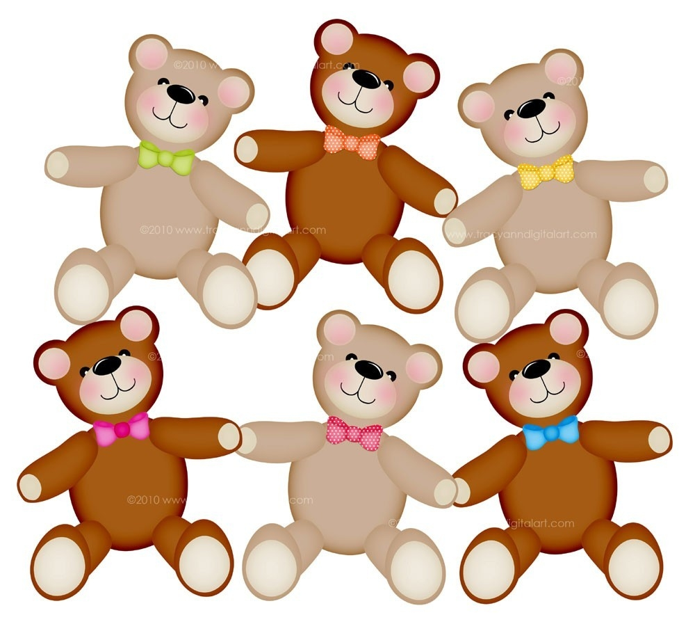 Cute Bear Clipart 10 L Teddy Bears Free