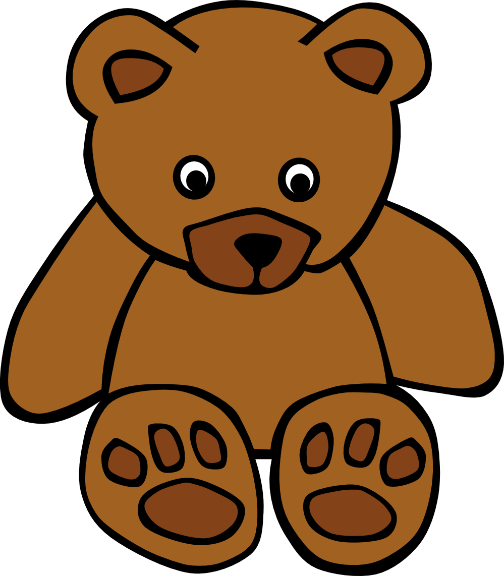 Teddy bear clipart free .