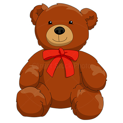 Teddy Bear Clipart Illustration Royalty Free Stuffed Toy Stock Image