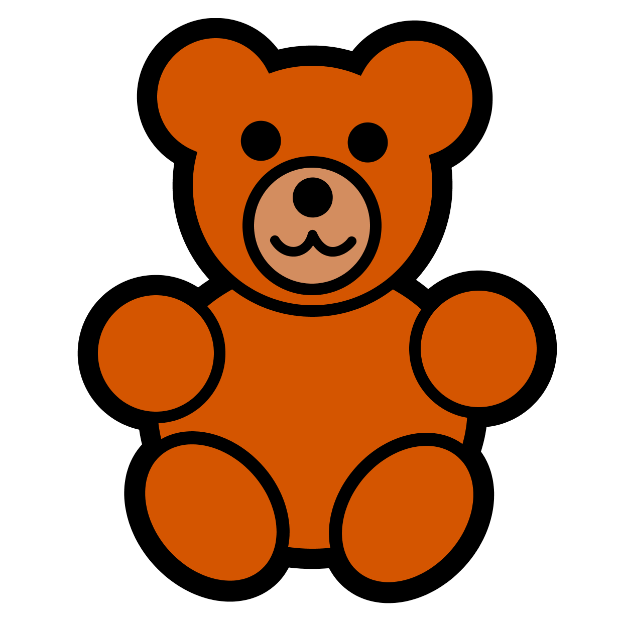 Teddy bear clipart free clipart images 5