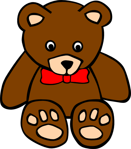 Teddy bear free to use cliparts
