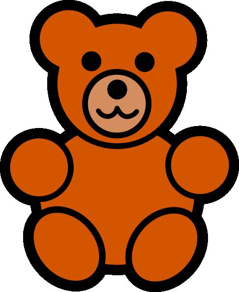 Teddy Bear Outline Clipart Free Clipart -Teddy bear outline clipart free clipart images 3-18