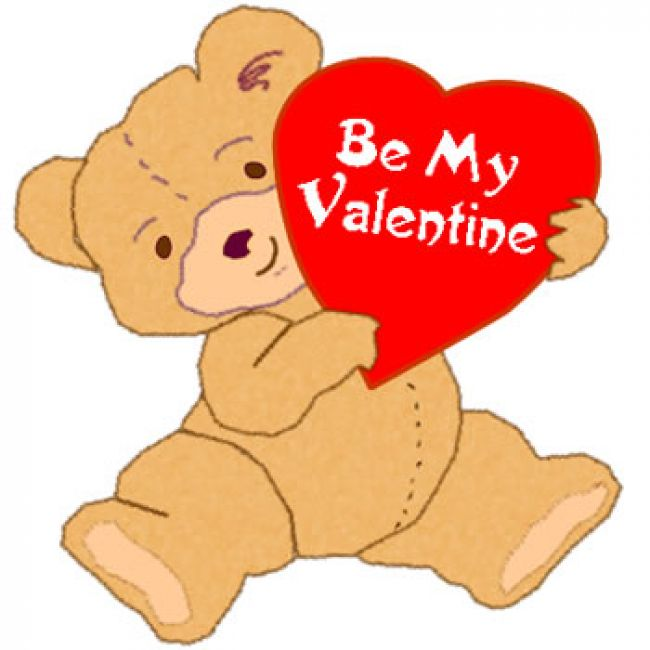 Teddy Bear Says Be My Valentine Clipart-Teddy Bear Says Be My Valentine Clipart-6