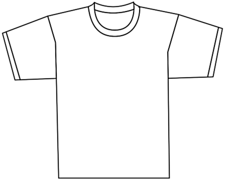 Tee Shirt Front Clothes Shirt - Tshirt Clip Art