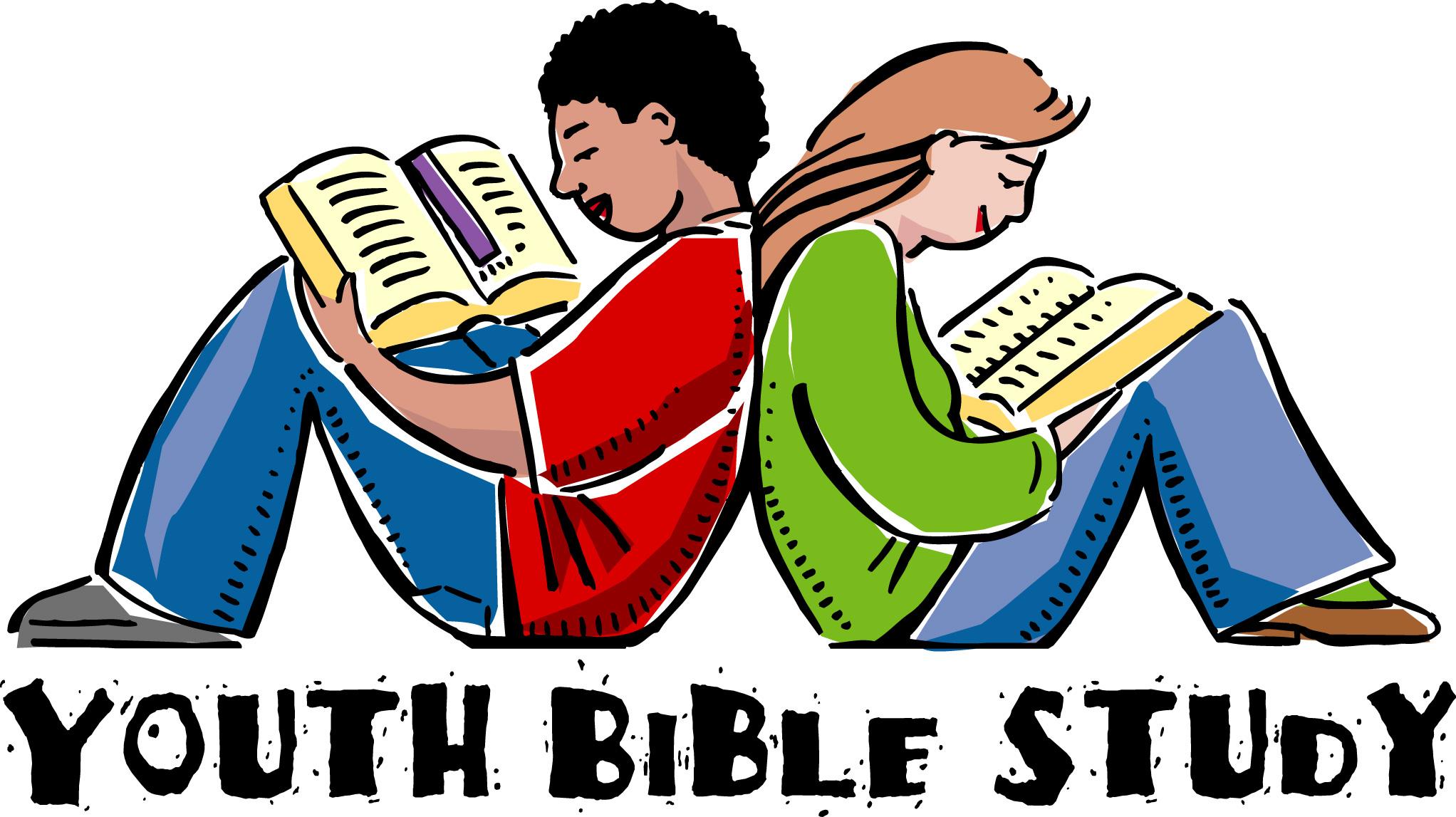 Teen Bible Study Clipart