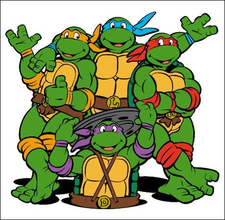 Teenage mutant ninja turtle cartoon clipart ...