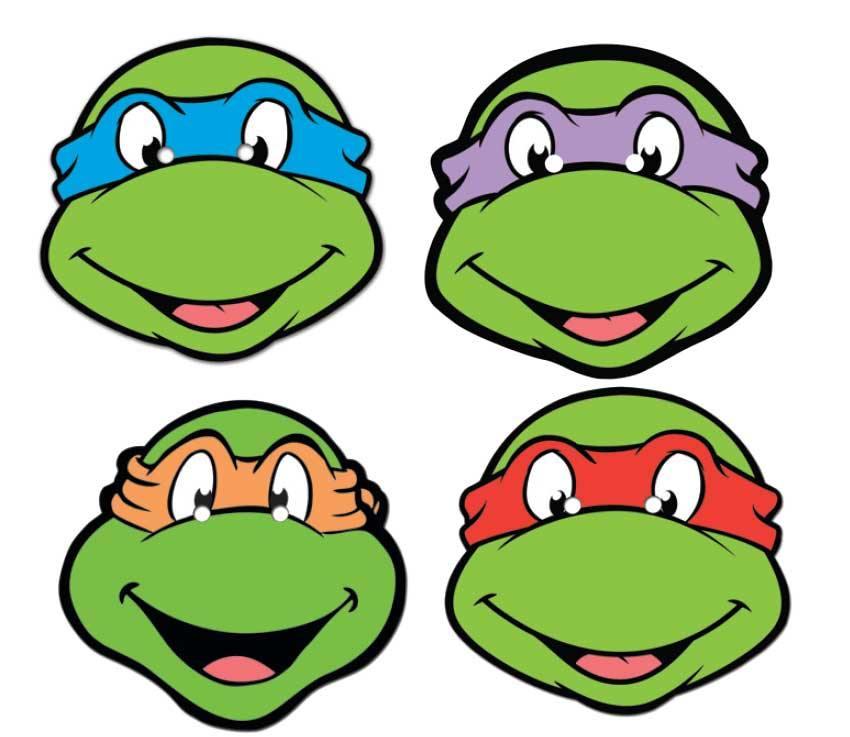 Teenage Mutant Ninja Turtles Mask Set Buy Star Masks At Starstills