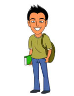 teenager clipart