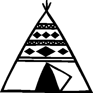 Teepee,indians,clipart .