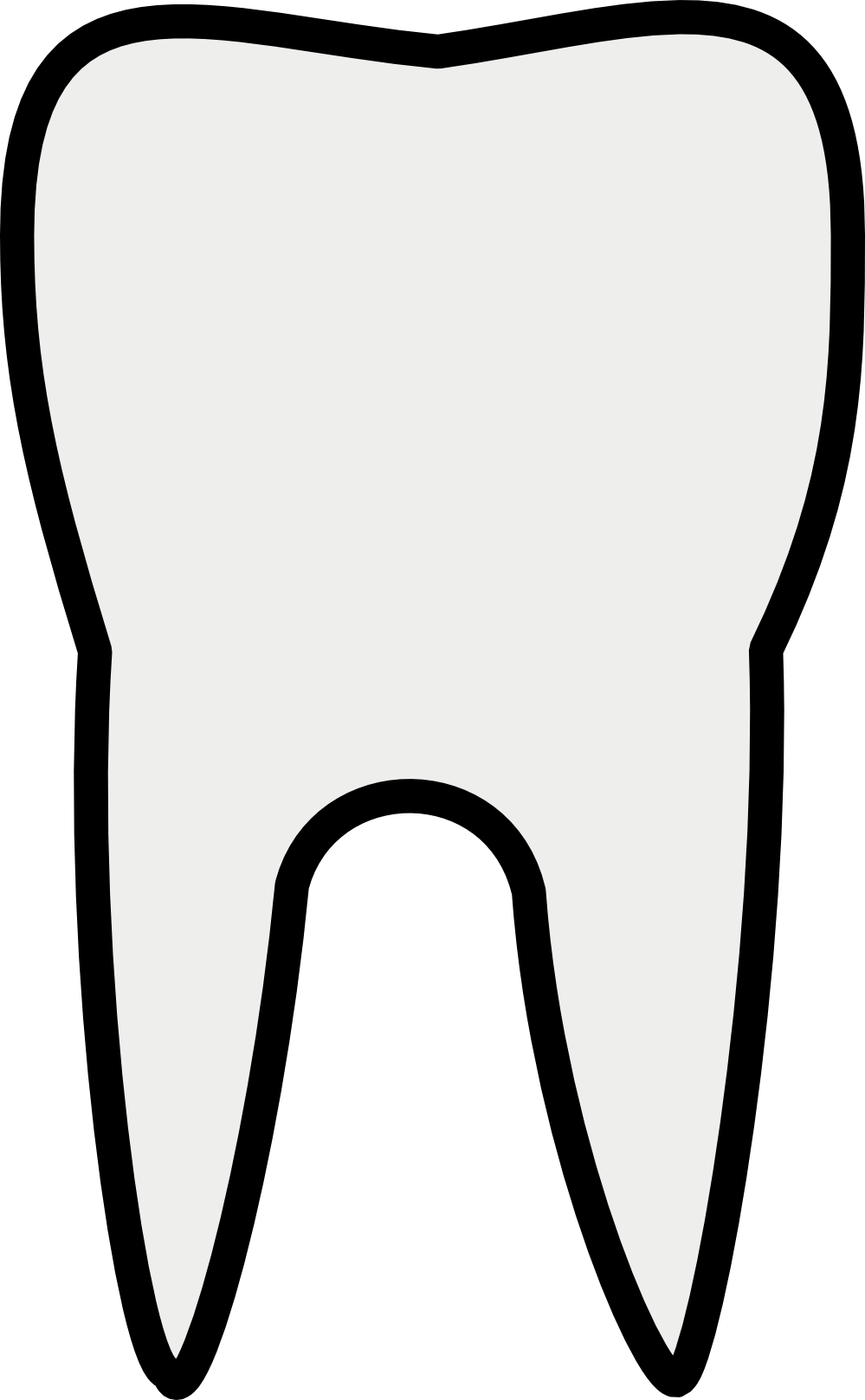 Tooth white. Teeth clipart clipartlook