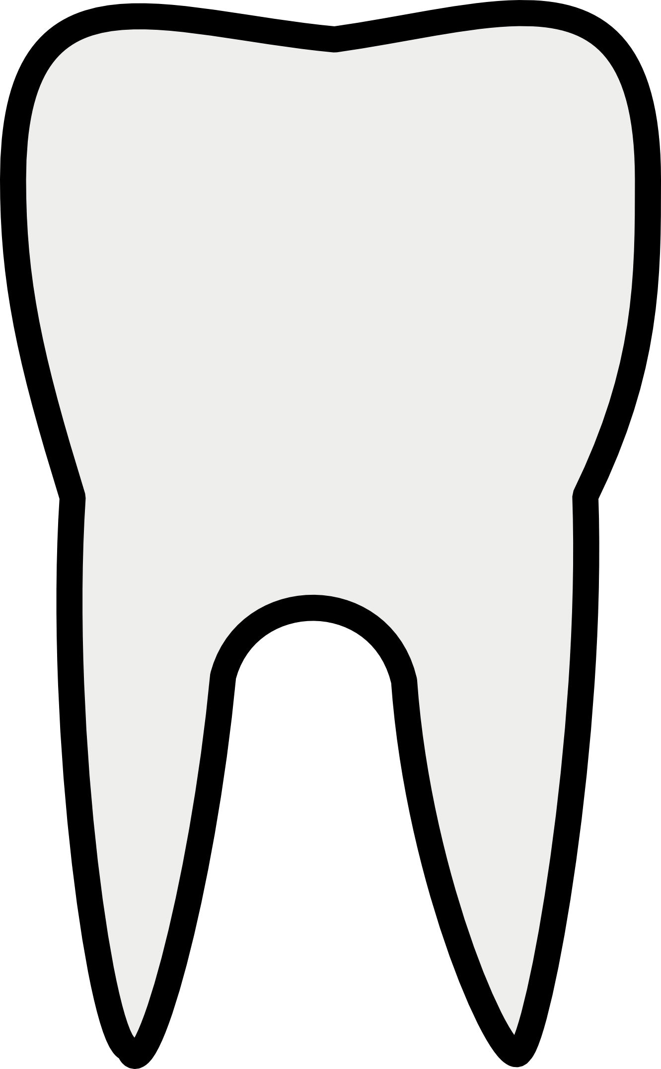 Teeth Clipart Black And White - White Clip Art