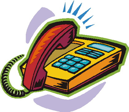 Telephone Clip Art-Telephone Clip Art-1