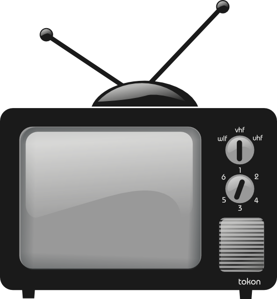 television clipart-television clipart-1