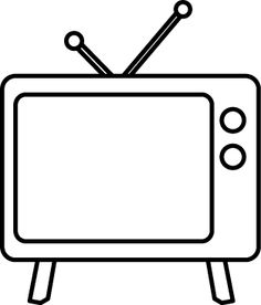 Television cliparts-Television cliparts-5
