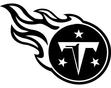 Tennessee Titans Football Logo Custom Vinyl Graphic by VinylGrafix