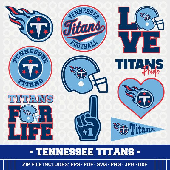 Tennessee Titans SVG, Titans Football, Svg Cameo, DXF File, Tennessee Titans ,