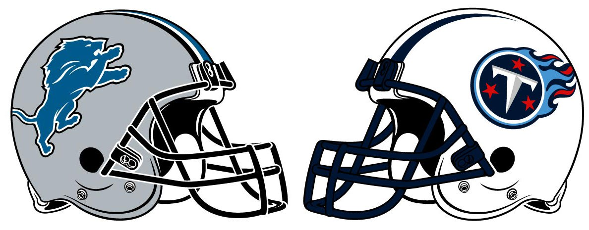 The Detroit Lions face off against the T-The Detroit Lions face off against the Tennessee Titans on Sunday.-19