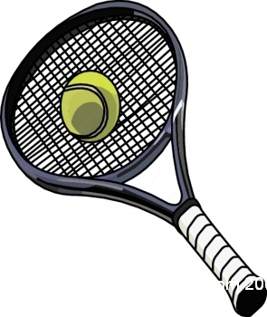 Tennis Ball And Racket Clip Art Free Cli-Tennis ball and racket clip art free clipart images-10