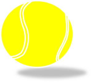 Tennis ball clip art at clker .