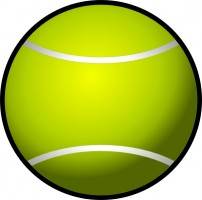 Tennis ball clip art free vector in open office drawing svg 2