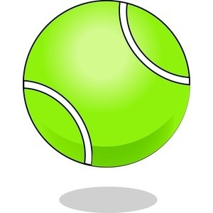 Tennis Ball Clipart-Tennis ball clipart-13