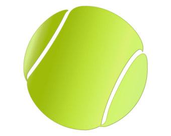 tennis ball clipart 6