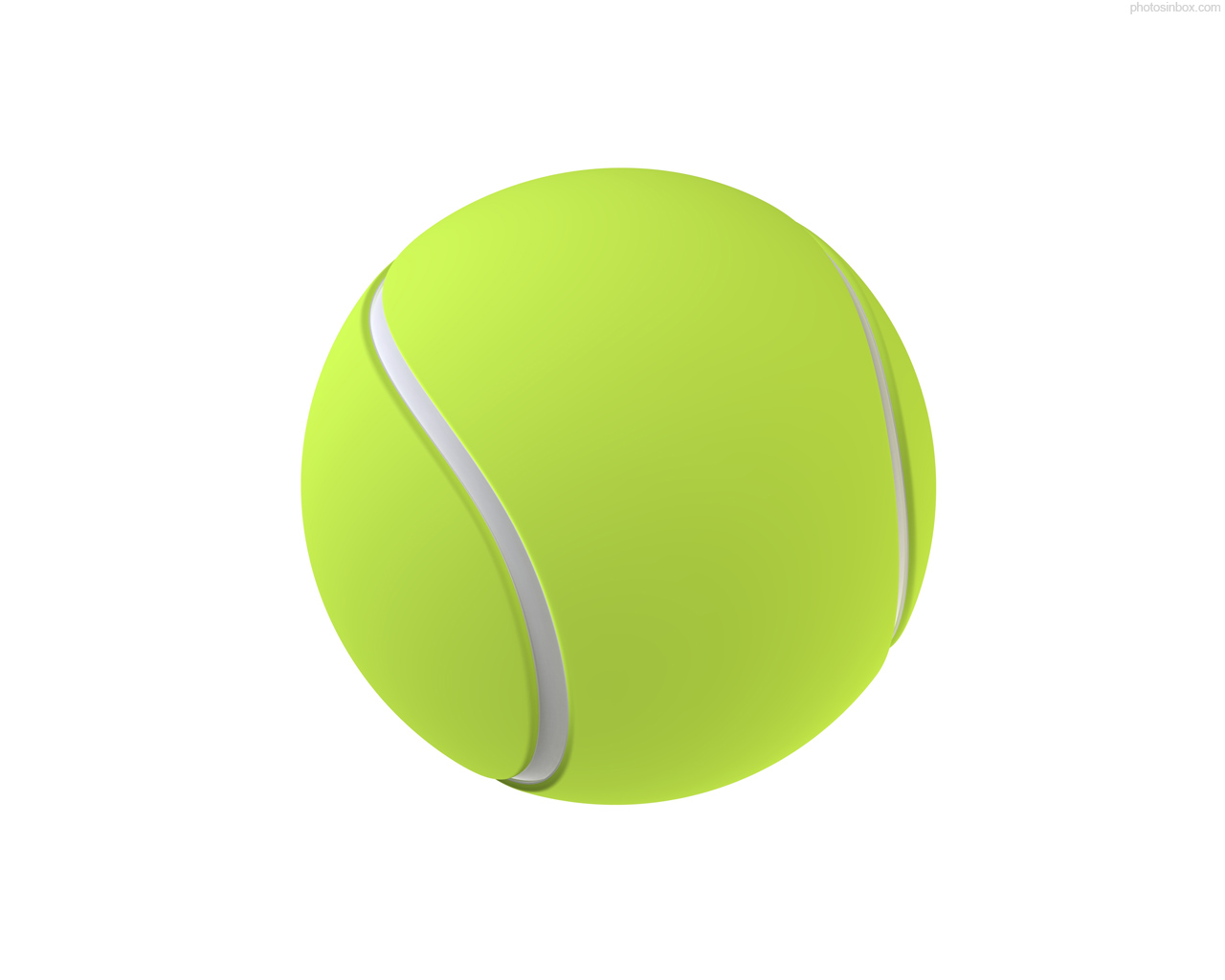 Tennis ball picture clipart