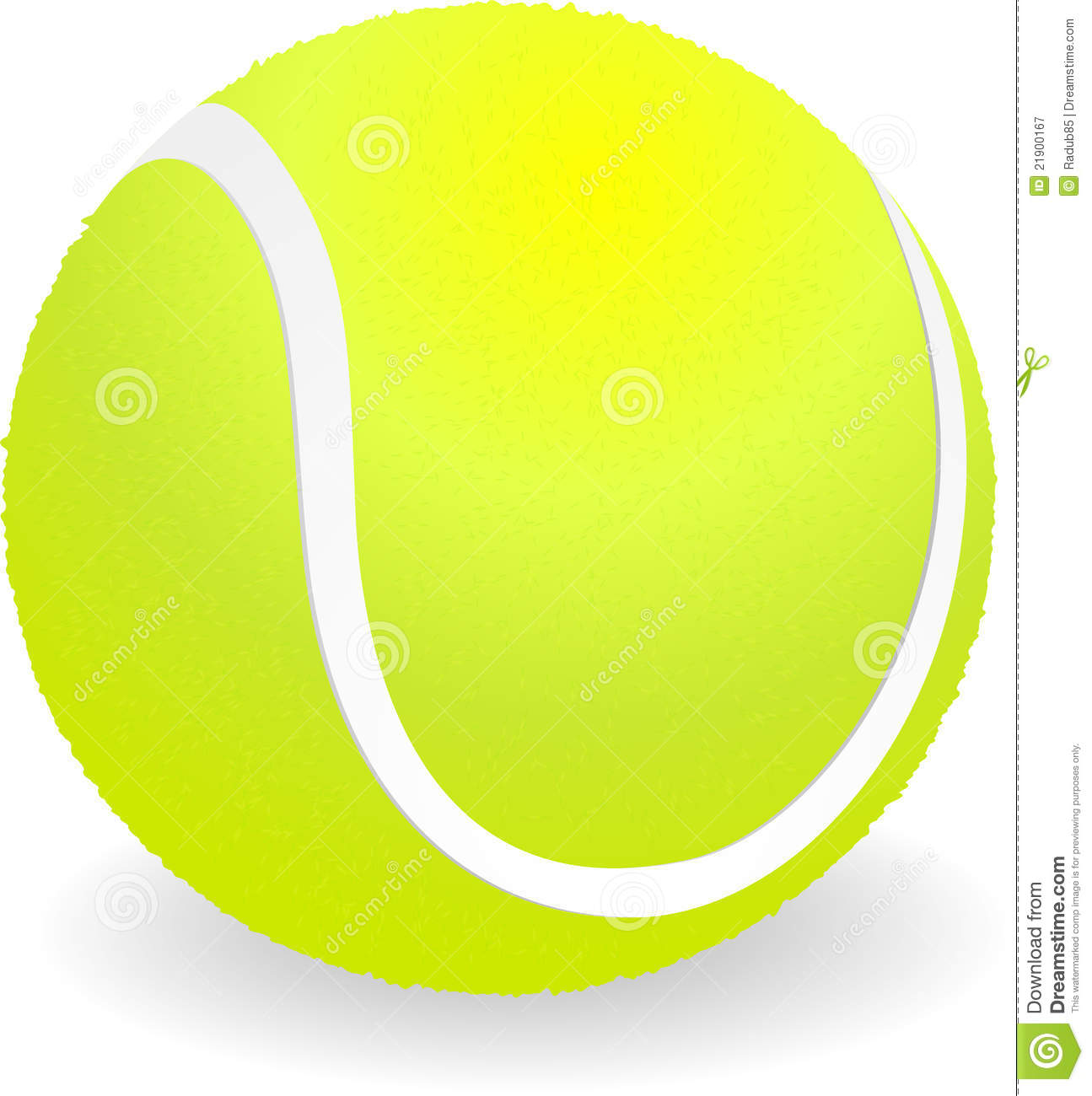 Tennis Ball Royalty Free Stock .