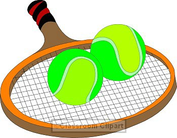 Tennis clip art pictures free - Tennis Clipart Free