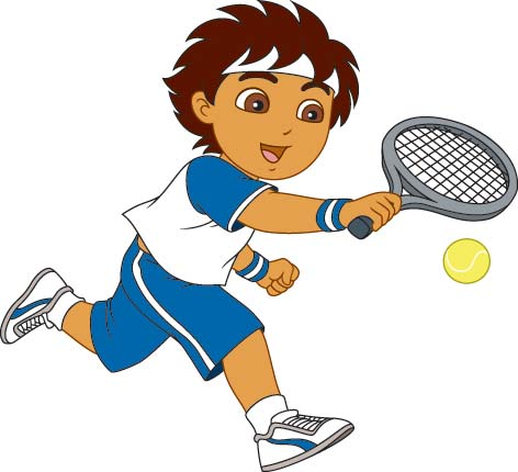 Tennis clipart free free clipart images clipartcow