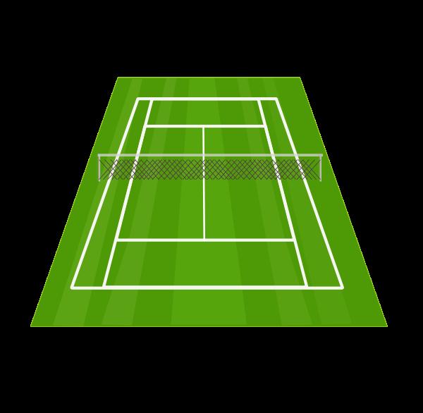 tennis clipart u0026middot; court clipart