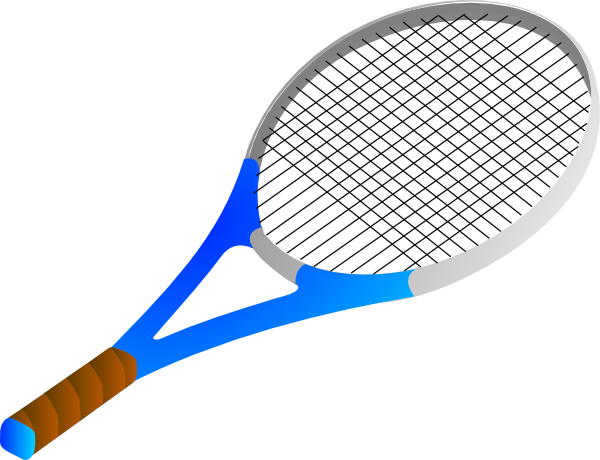 Tennis Racket Clip Art At Clker Com Vector Clip Art Online Royalty
