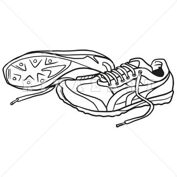 Tennis Shoe Clipart Free - Clipartsgram -Tennis Shoe Clipart Free - clipartsgram clipartall.com-14