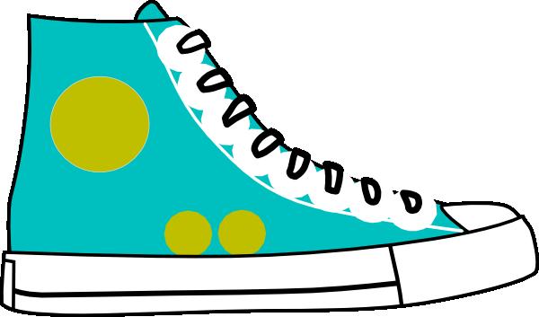 tennis shoes clipart black an - Clipart Of Shoes
