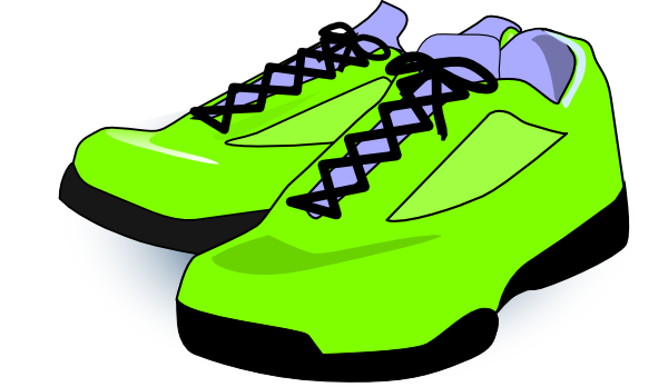 Tennis Shoes Clipart Black And White Fre-Tennis shoes clipart black and white free 2 2-16