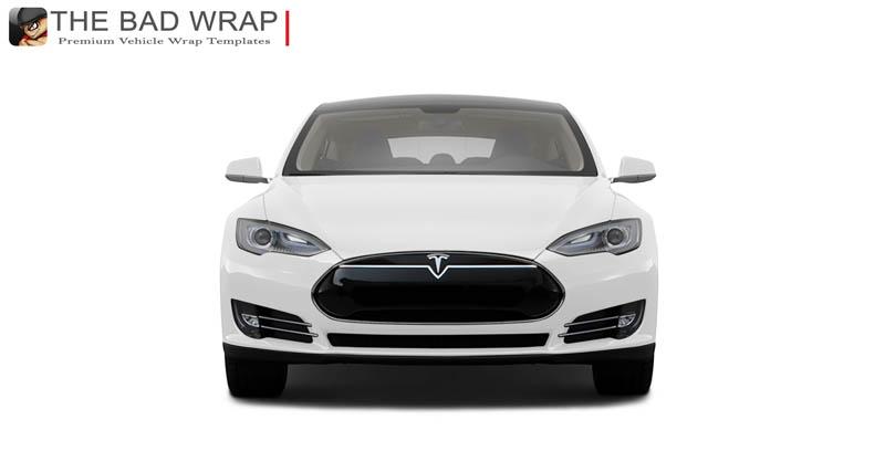 1074 2014 Tesla Model S sedan Front