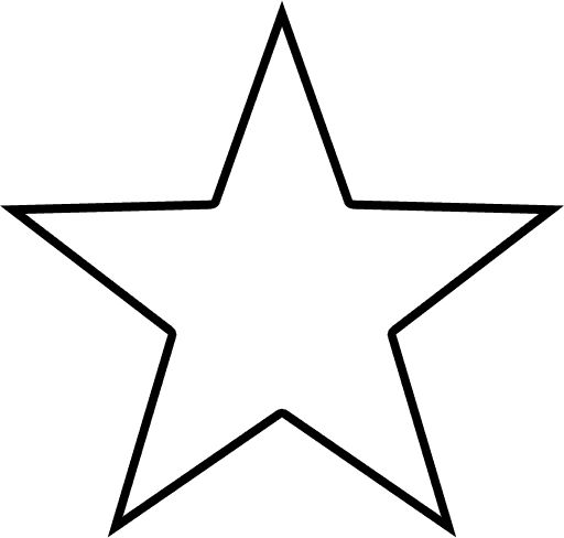 Texas Star Outline | star .