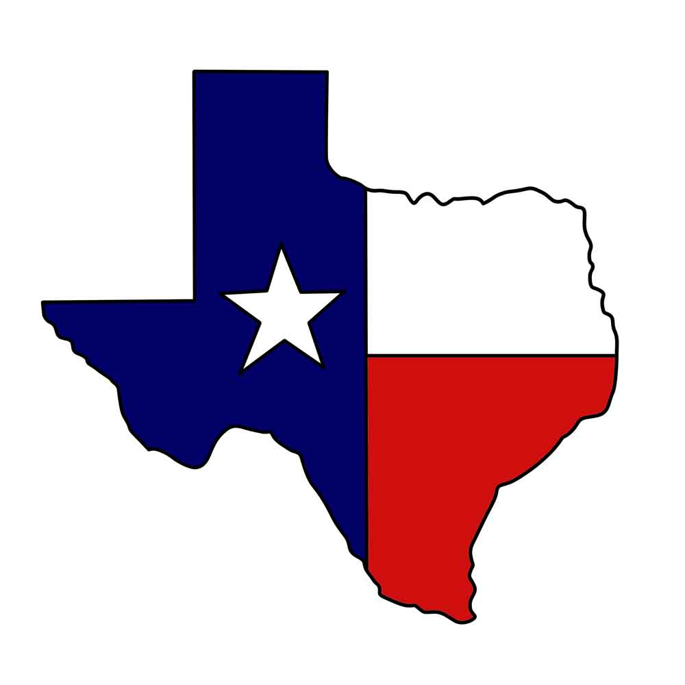 ... Texas state clipart ...