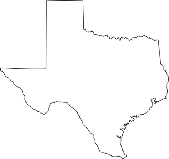Texas State Line Art Free Clip .-Texas state line art free clip .-17