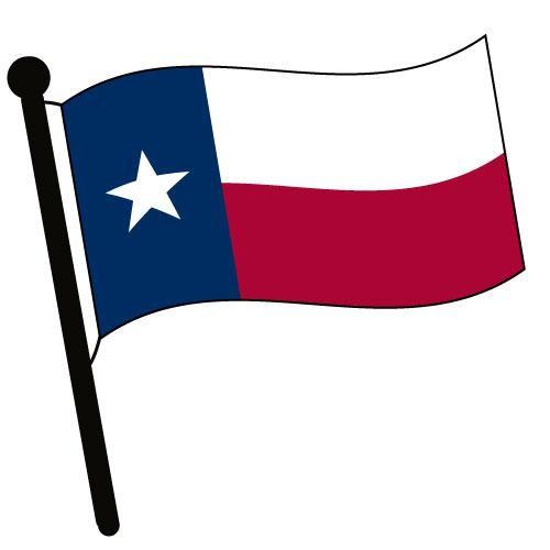 Texas waving flag clip art american flag pictures accessories