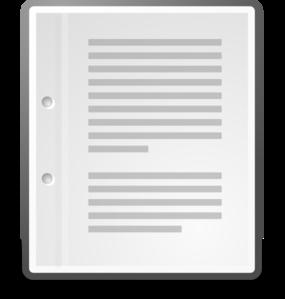 Text X Generic Clip Art