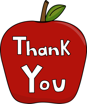 Thank You Apple - Clipart For Thank You
