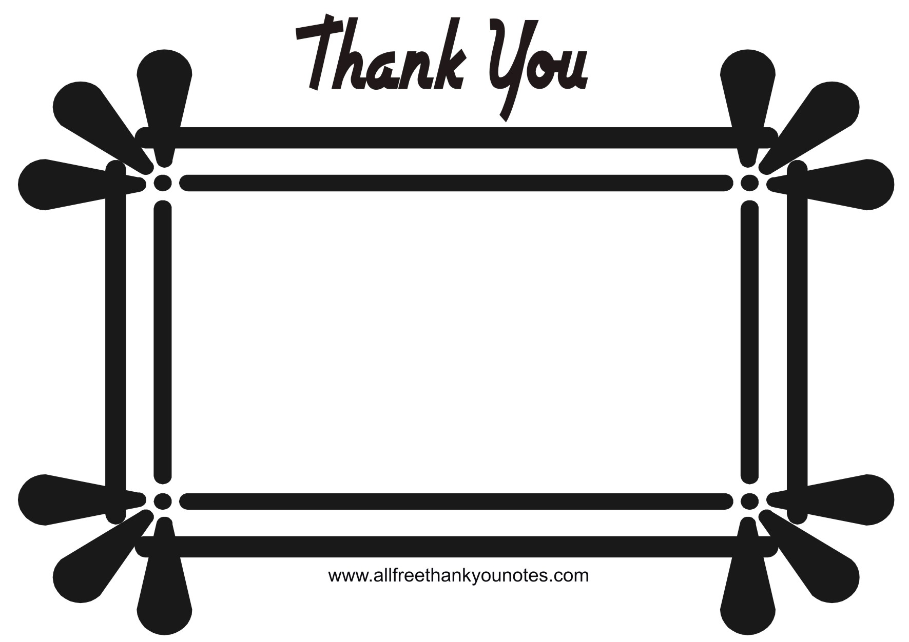 Thank You Black And White Clipart Panda -Thank You Black And White Clipart Panda Free Clipart Images-6