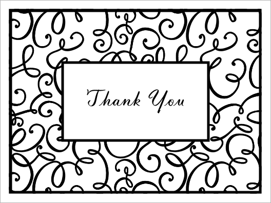 Thank You Black And White Clipart Panda -Thank You Black And White Clipart Panda Free Clipart Images-7