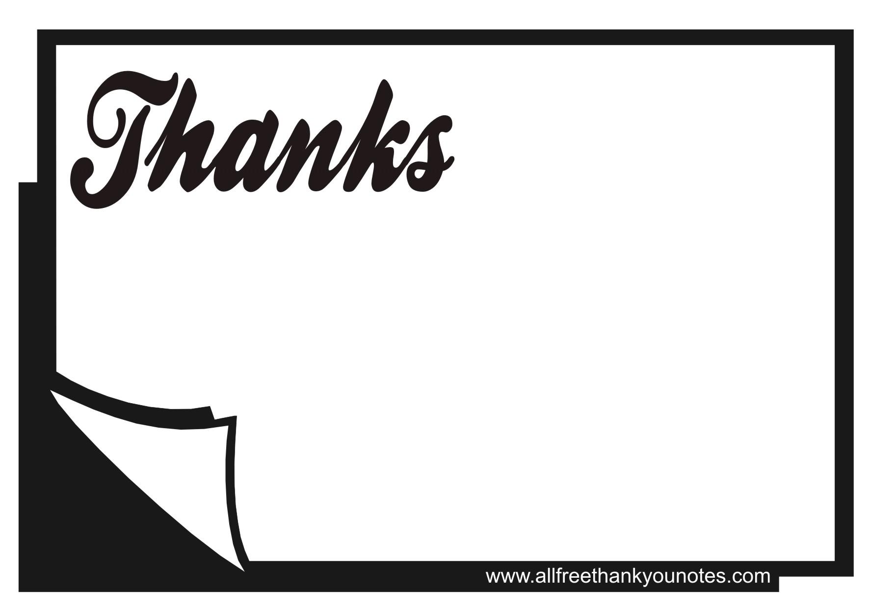 Thank You Black And White Thank You Blac-Thank You Black And White Thank You Black Page Book Printable Jpg-8