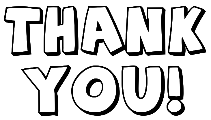 Thank You Clipart Black And White Thank -Thank You Clipart Black And White Thank You Clip Art 16 Png-19