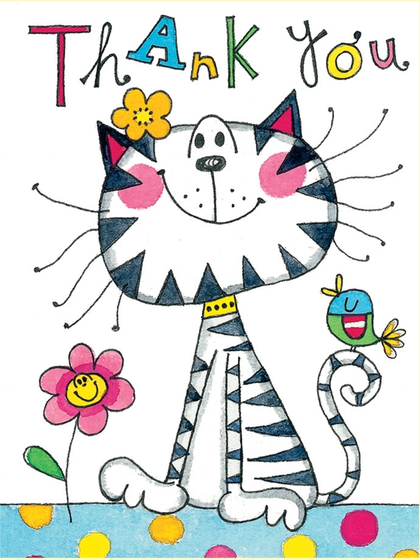 Cat Thank You Clipart-Cat Thank You Clipart-4