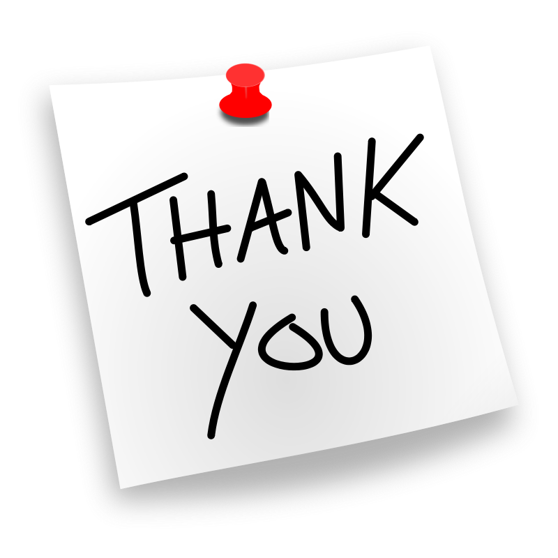 thank you clipart - Clipart For Thank You