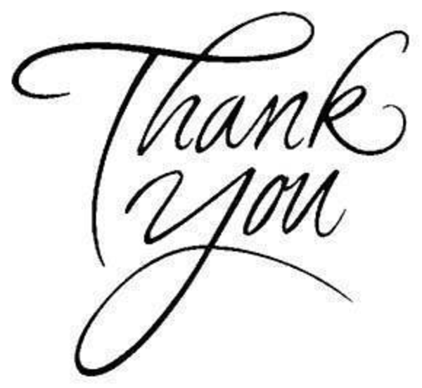 Thank you black. Clipart and white
