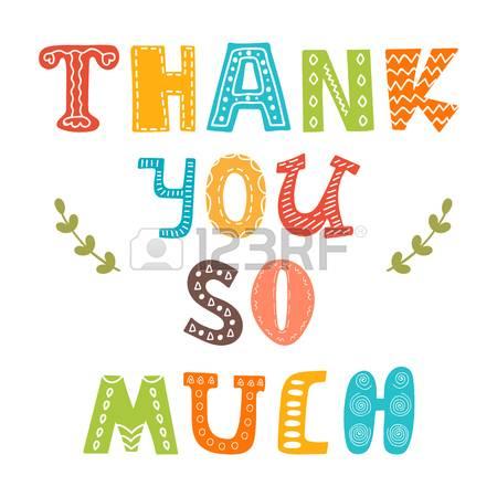 Thank You So Much. Cute Greeting Card. V-Thank you so much. Cute greeting card. Vector illustration-17